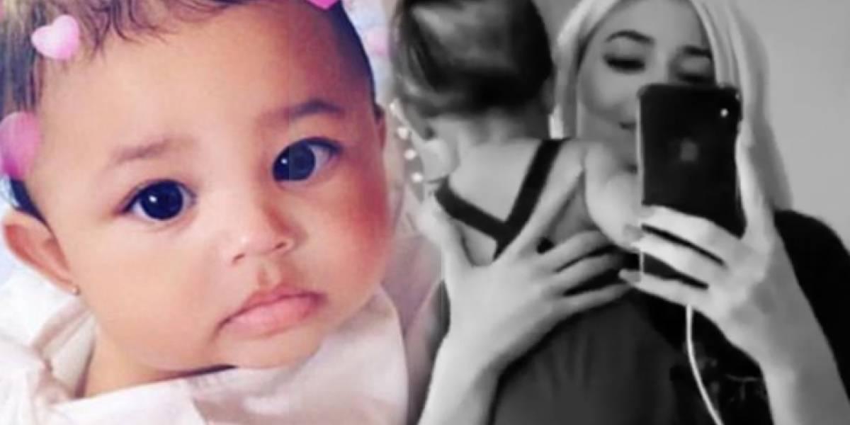 Critican a Kylie Jenner por ponerle demasiados filtros a Stormi