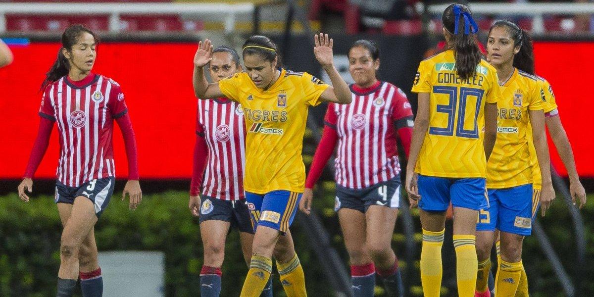 VIDEO: Pelea entre jugadoras de Chivas y Tigres deja cuatro suspendidas