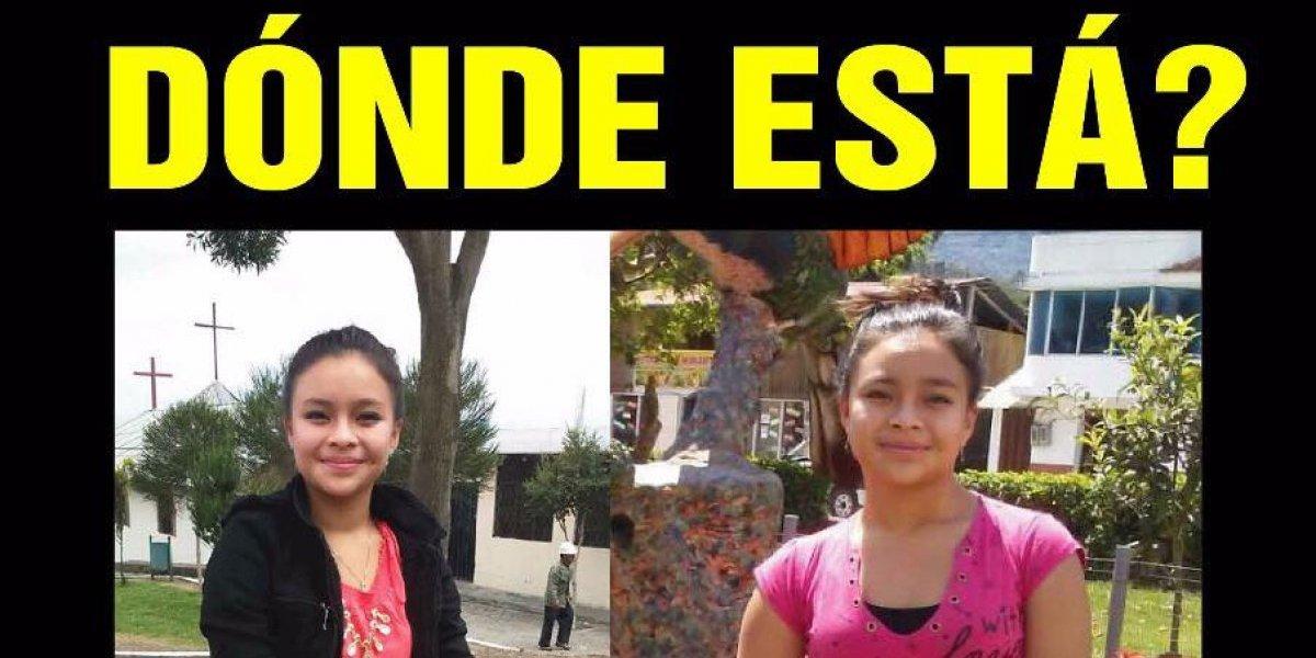 Familiares buscan a Anahy del Cisne Jiménez Sarmiento vista por última vez en el sector El Conde