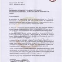 Paro de transportistas en varias provincias de Ecuador