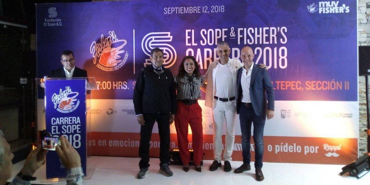 Carrera El Sope & Fisher's 2018 celebra 52 años de 'la vereda de Chapultepec'