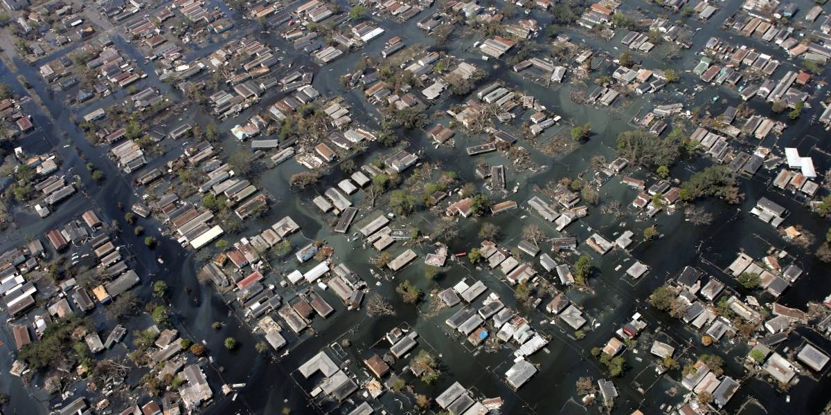 La simulación premonitoria que muestra la devastación que dejará el huracán Florence en la Costa Este de EEUU