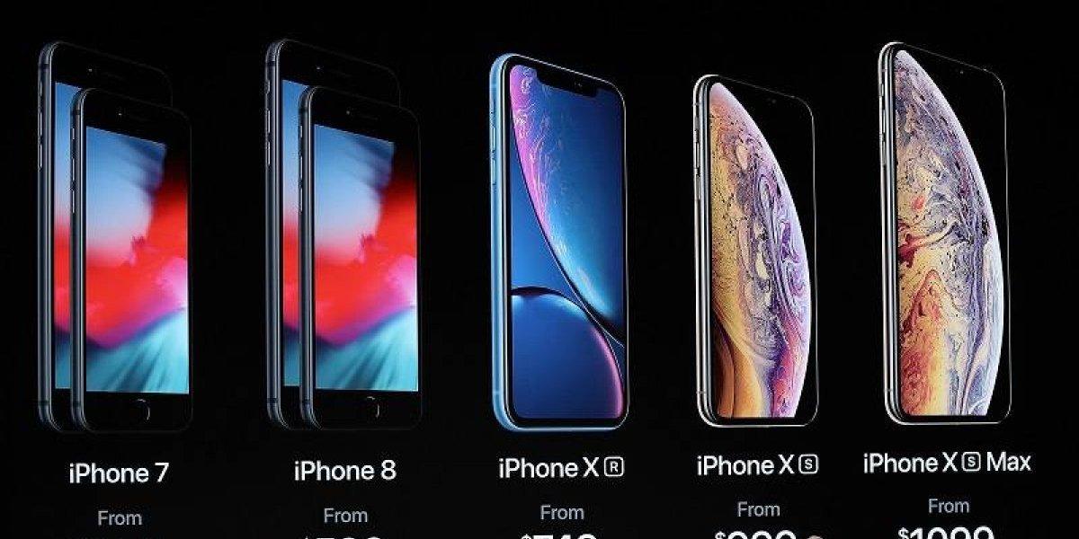 Apple presentó sus nuevos iPhone y un Apple Watch
