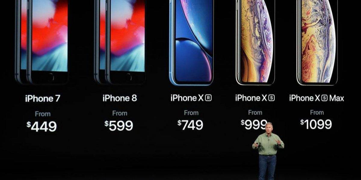Apple presentó sus nuevos iPhone y un nuevo reloj inteligente