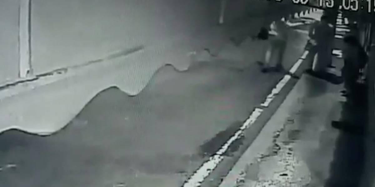 VIDEO. Cámaras captan crimen de joven en bulevar Acatán zona 16