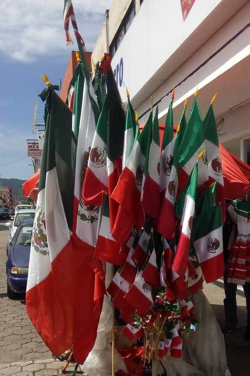 Las banderas es el adorno preferido. Cortesía.