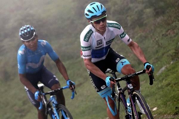 Clasificación de La Vuelta tras la etapa 17