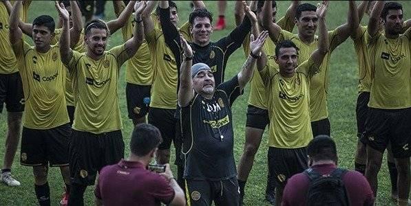 Las exigencias de Diego Maradona como DT de los Dorados de Sinaloa Twitter