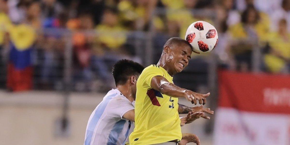 El olvido de Wilmar Barrios al cambiar camiseta con jugadores de la Argentina