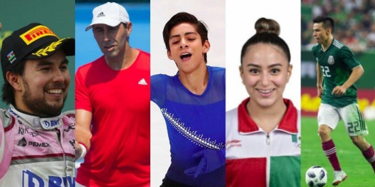 Deportistas que están dando la cara por México en el mundo