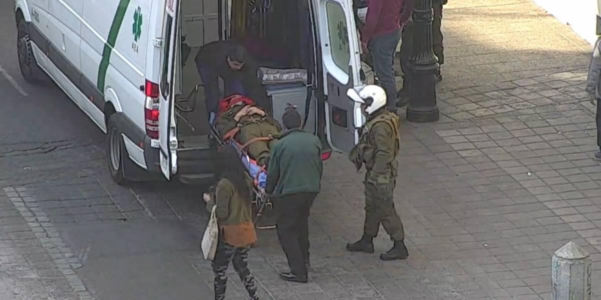 Vehículo arrastró a carabinero 50 metros: conductor fue ubicado en Puente Alto y se encuentra prófugo