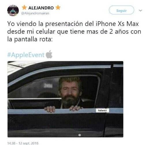 Meme del evento Apple