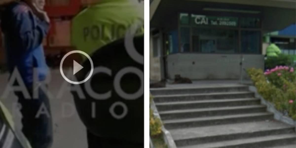 Divulgan impactante video de amigo del joven muerto en CAI de Bogotá