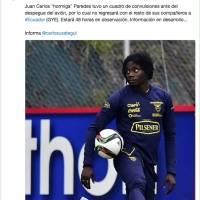 Tuit de Juan Carlos Paredes