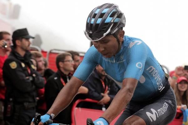 Nairo Quintana trabajará para Alejandro Valverde en La Vuelta