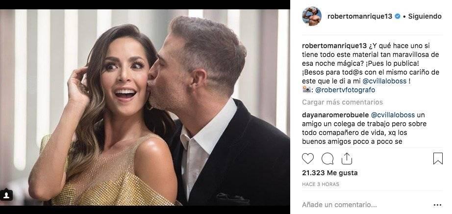 Instagram de Roberto Manrique
