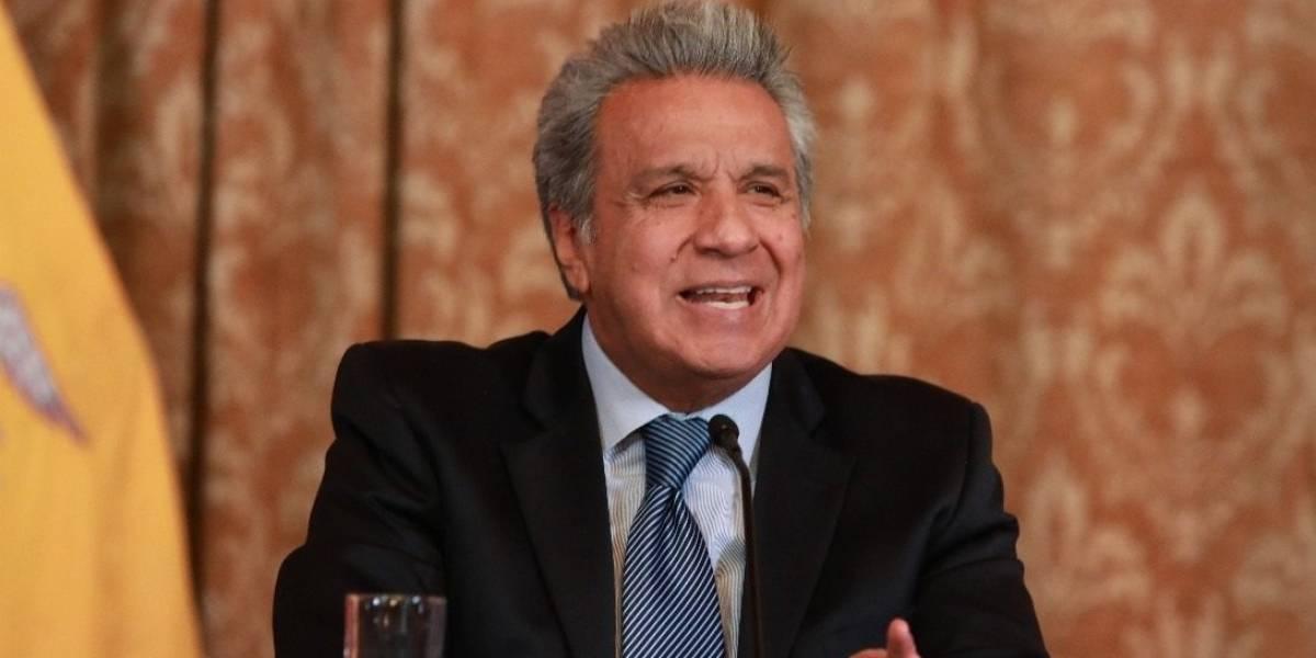 Presidente Lenín Moreno enviará proyecto de Ley Anticorrupción para incautar bienes a corruptos