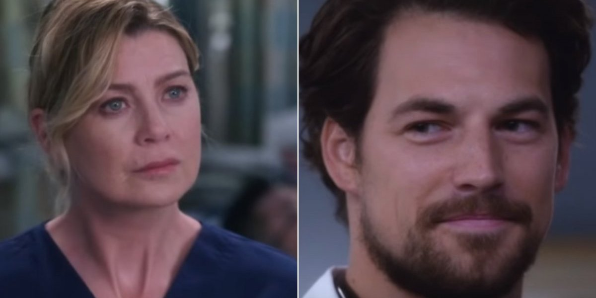 Grey's Anatomy: Andrew DeLuca será ou não o novo amor de Meredith na 15ª temporada?