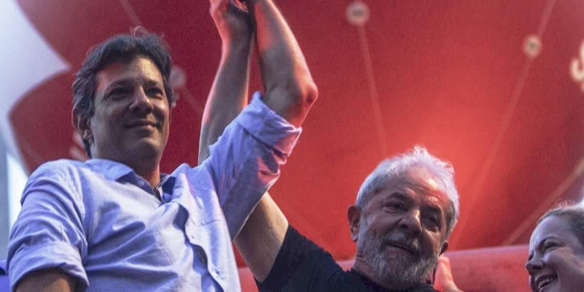 ¿Votarán por Fernando Haddad los partidarios de Lula?