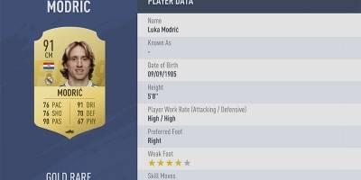 Rating FIFA 19