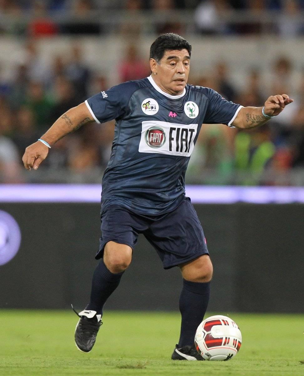 Diego Armando Maradona mide 1.65