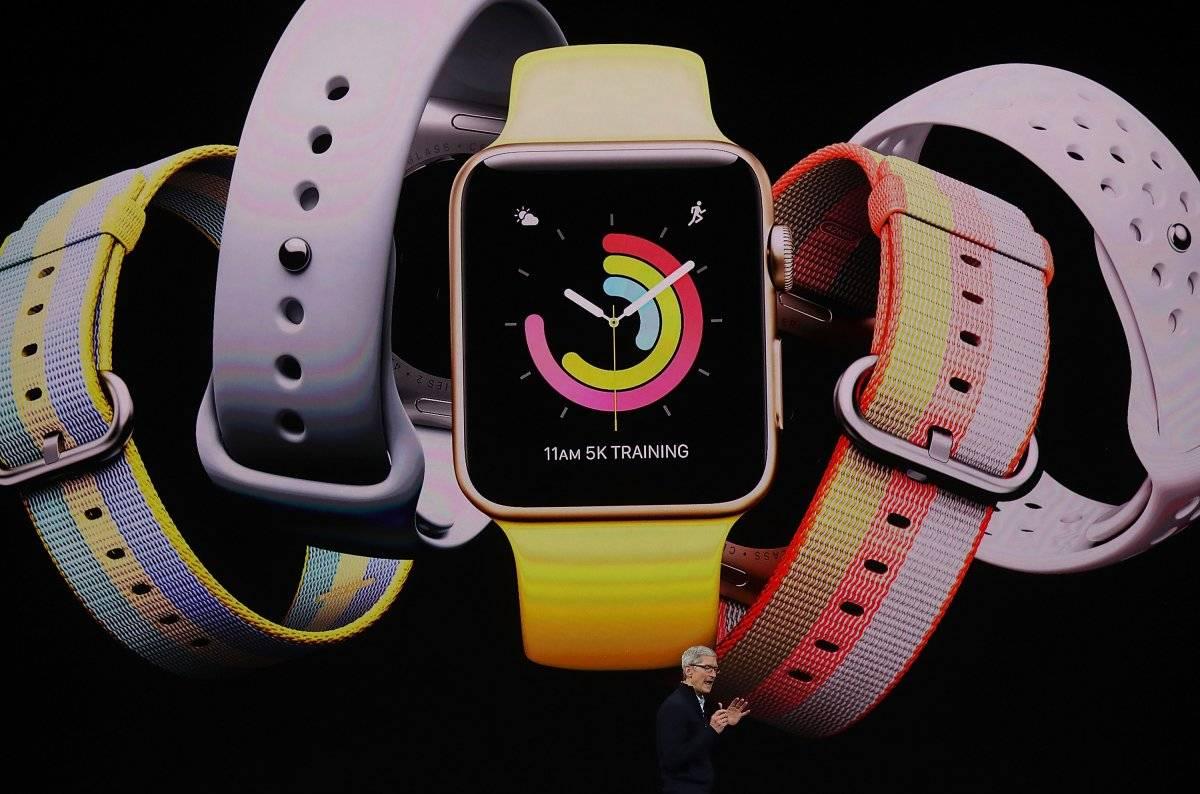 2 de agosto de 2018: Apple se convierte en la primera compañía pública estadounidense en superar el valor de 1 billón de dólares. Foto: Getty Images