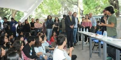 Graue en CCH Azcapotzalco