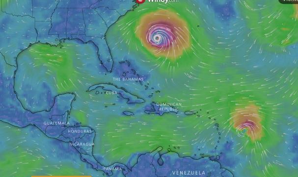 Siga en vivo el paso del huracán Florence por el Caribe
