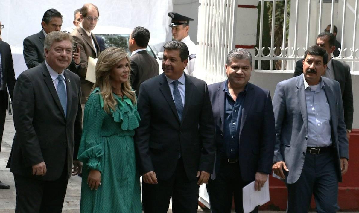 Gobernadores de la frontera norte del país. Foto: Cuartoscuro