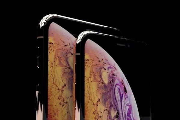 iPhones Xs e Xs Max