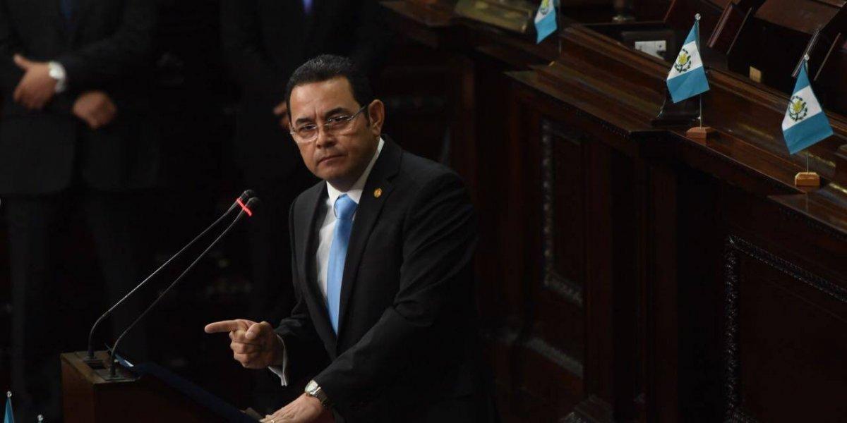 """Presidente Morales: """"Los guatemaltecos nos identificamos por la fe"""""""