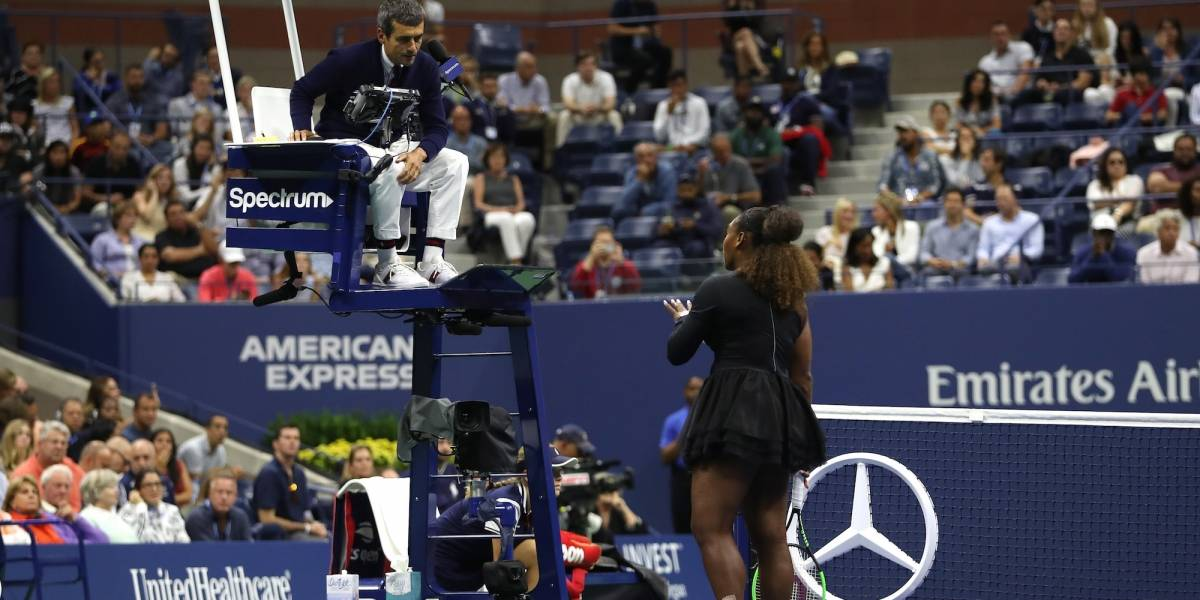 Juez que sancionó a Serena Williams rompe el silenció y no se victimiza