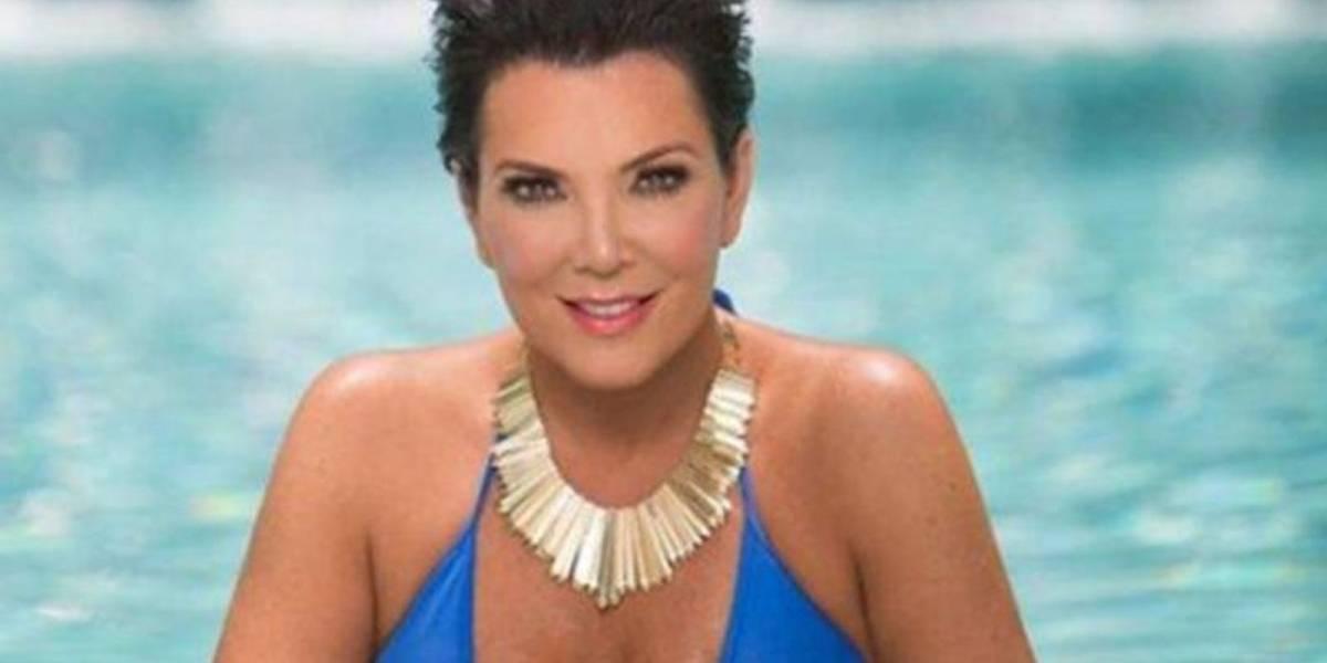 ¡Cuerpazo! Kriss Jenner no le tiene miedo a usar bikini a los 62 años