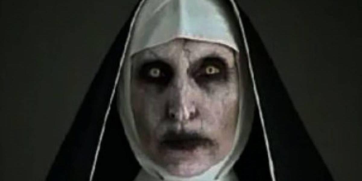 Ella es la actriz que se encuentra detrás del aterrador rostro de La Monja