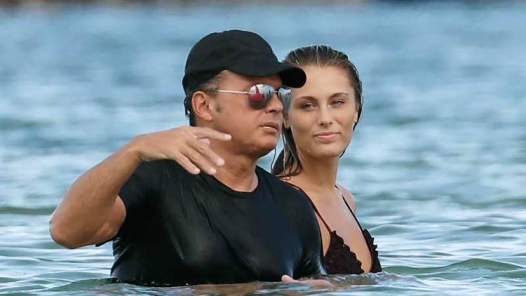 Luis Miguel y su novia