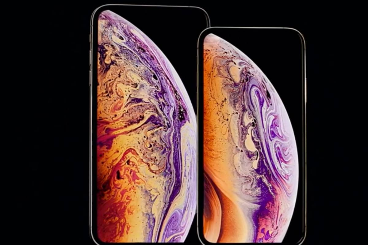 iPhone XS y XS Max Foto: Apple