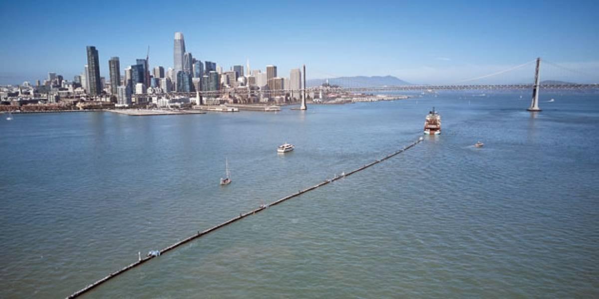 Projeto começa teste para limpar o Pacífico