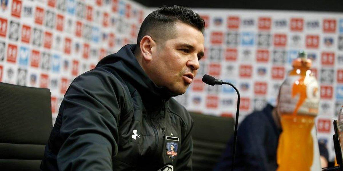 """Tapia confirma que no hay 18 en Colo Colo: """"No se puede dar libre, jugamos un partido muy importante"""""""