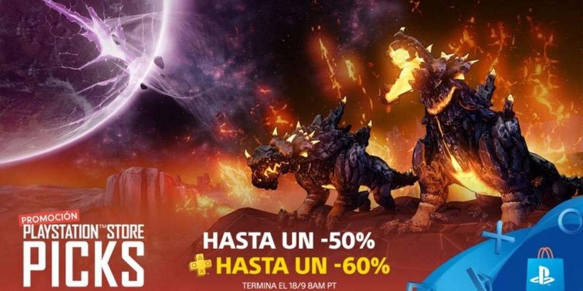 PlayStation Store tiene hasta el 50% de descuento en un selección de juegos favoritos