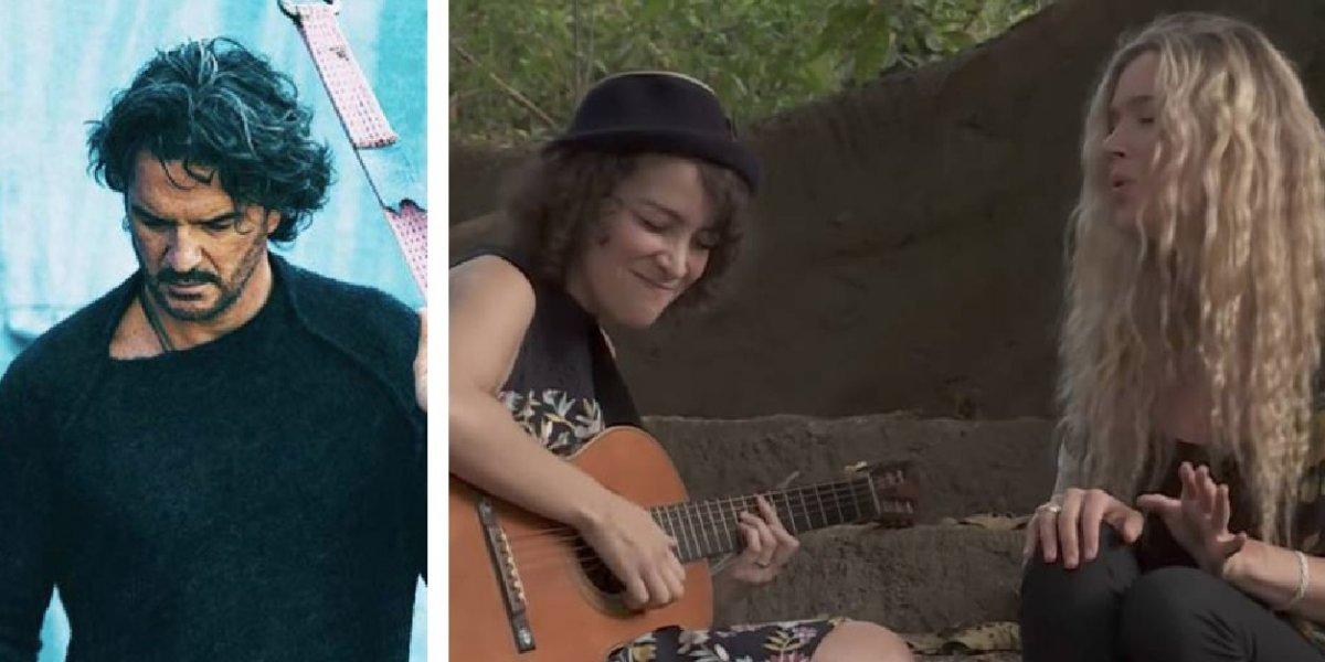 Ricardo Arjona no oculta su emoción por ver cantar juntas a Gaby Moreno y Joss Stone