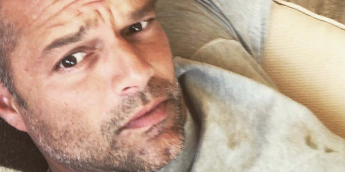 Destapan romance oculto entre Ricky Martin y un periodista argentino