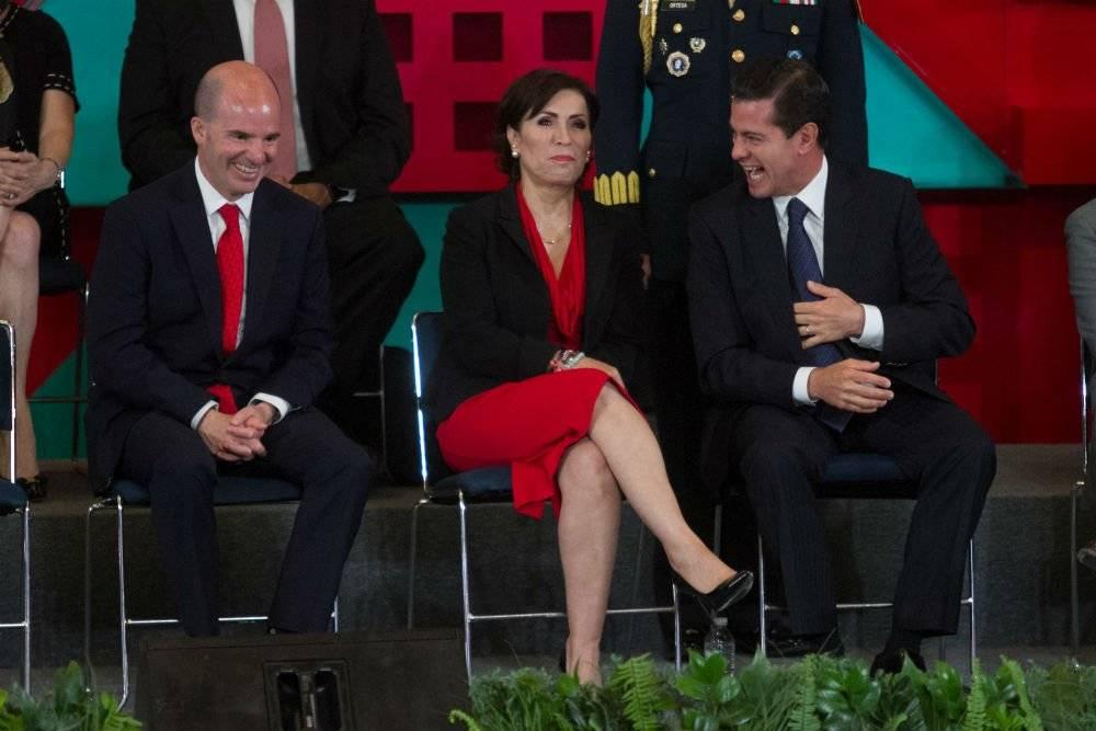 Rosario Robles en cumbre del Infonavit Foto: Cuartoscuro