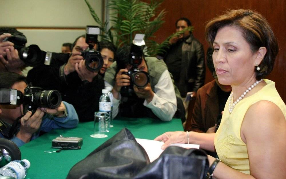 Rosario Robles presentó su renuncia al PRD en 2004 Foto: Cuartoscuro