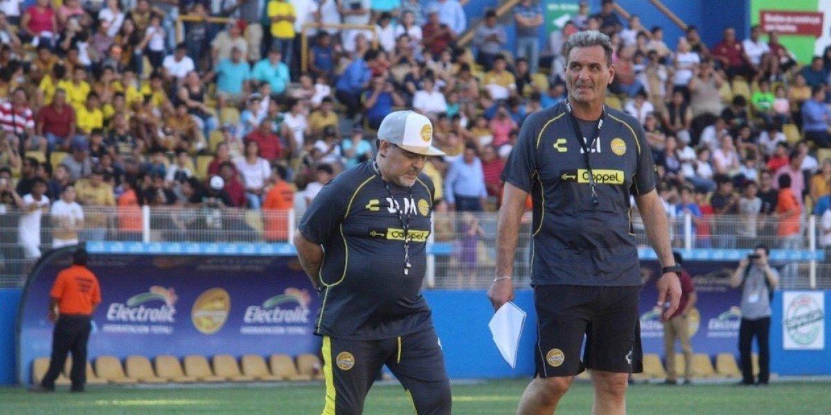 Maradona e Islas aseguran que van por el ascenso con Dorados