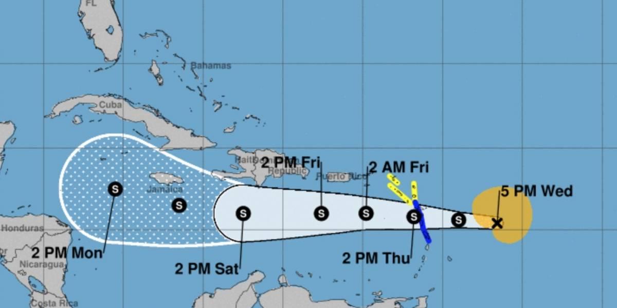 Hay cuatro sistemas tropicales en el Atlántico