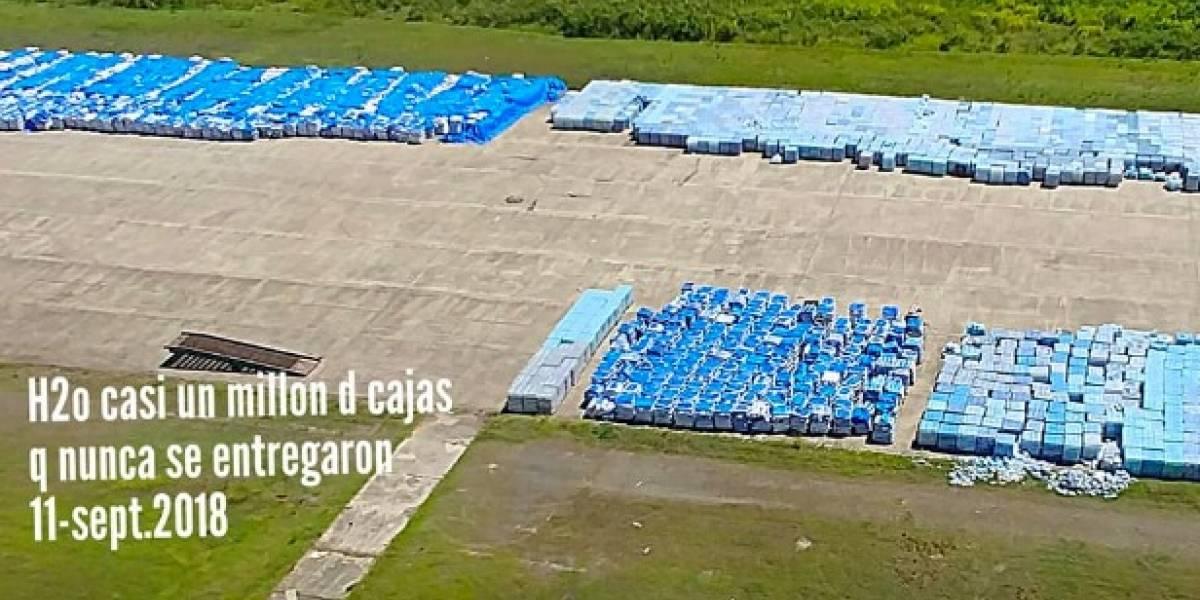 Funcionario de FEMA asegura ahorraron dinero al ubicar agua en pista de Ceiba