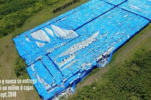 Denuncian que miles de cajas de agua no se usaron tras emergencia por María
