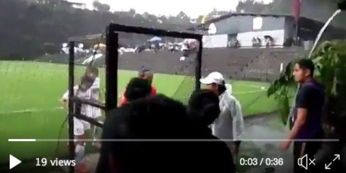 Aguacero obliga a suspender el Pumas vs Puebla de la liga femenil