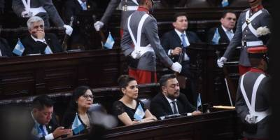 Sesión solemne en el Congreso
