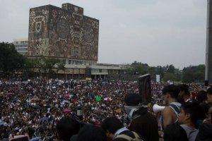 Pedirán salida de porros de la UNAM con marcha del silencio